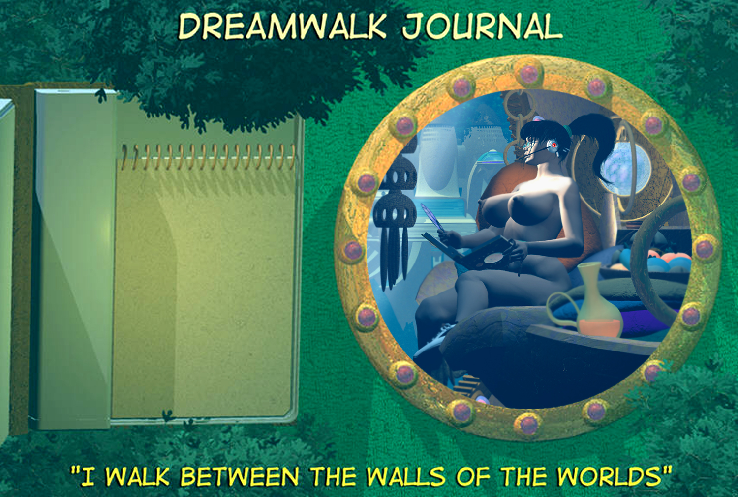 THE BEGINNING OF DREAMWALK JOURNAL.. L.